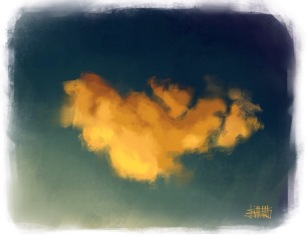 Fiery Cloud