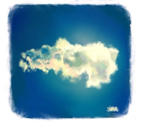 Backlit Cloud
