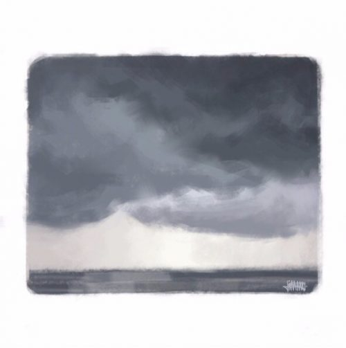 Stormy Seal Beach
