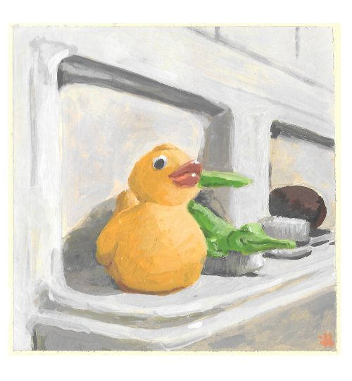 Rubber Ducky & Crocky