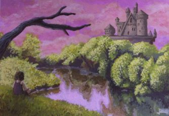 Fairy Tale Painting for Girl's Room