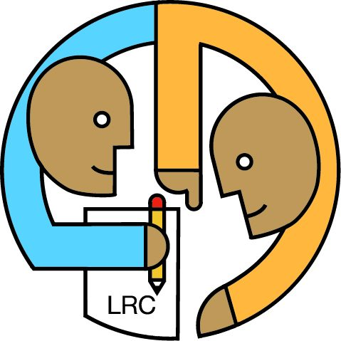 LRC Logo for Saddleback College - Yellow