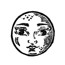 Moon Stamp
